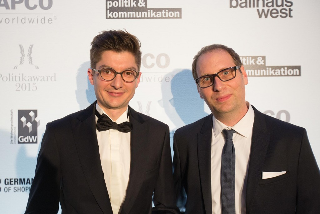 NOMINIERT FÜR GERMAN POLITIK AWARD 2015