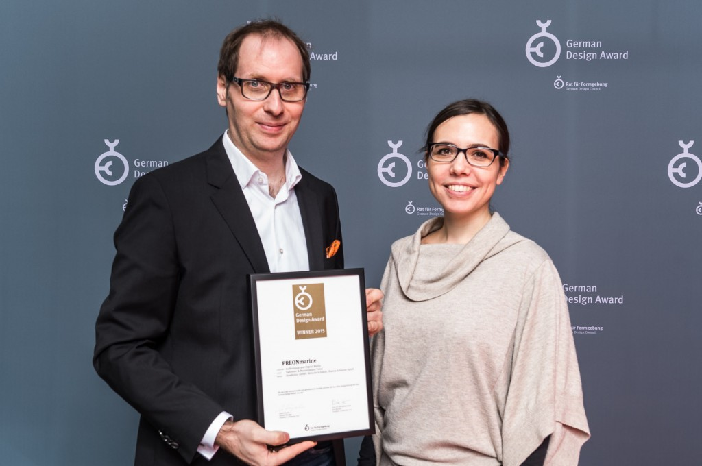 GERMAN DESIGN AWARD IN GOLD